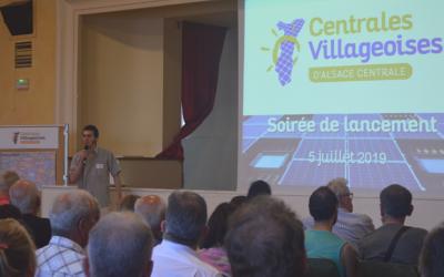 5 juillet 2019 – Inauguration des Centrales Villageoises d'Alsace Centrale