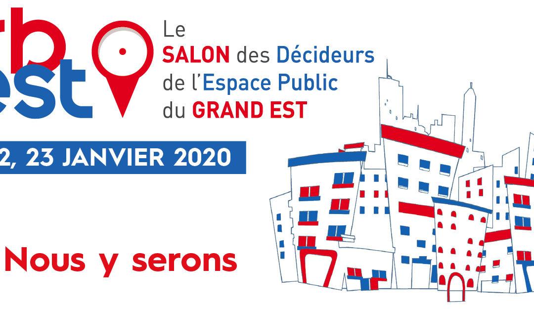 21-23 janvier – GECLER présent au salon URBEST de Metz